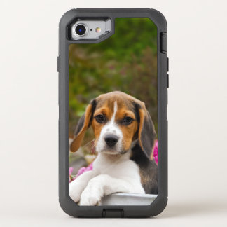 Cute Beagle Dog Puppy Photo Animal - Phone-protect OtterBox Defender iPhone 8/7 Case