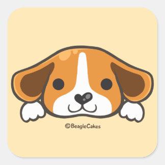 Cute Beagle Sticker