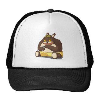 Cute bear funny cartoon character kawaii anime hat