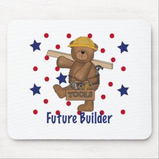 Cute Bear Future Builder Mouse Pad