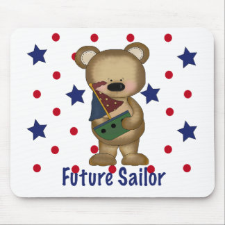 Cute Bear Future Sailor Mouse Pads