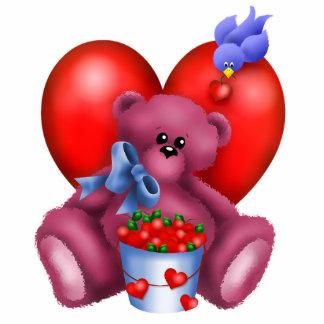 Cute Bear Hearts Photo Sculpture 6
