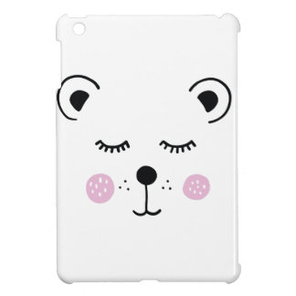 Cute bear illustration case for the iPad mini