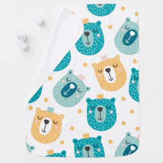 Cute Bear King Baby Blanket