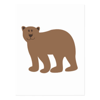 Cute Bear Postcard