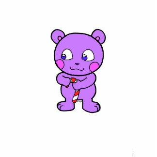 Cute bear xmas photo cutouts