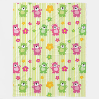 Cute Bears Fleece Blanket