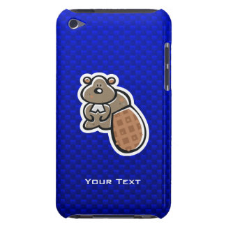 Cute Beaver Blue Barely There iPod Case