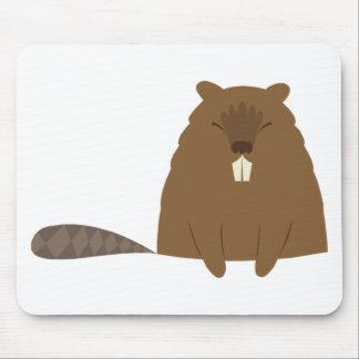 Cute Beaver Mousepad