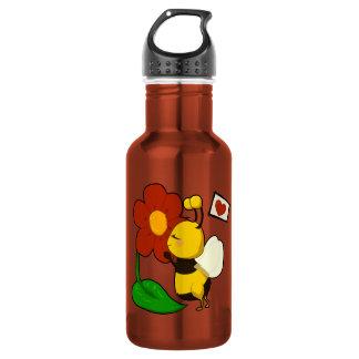 Cute bee 18oz water bottle