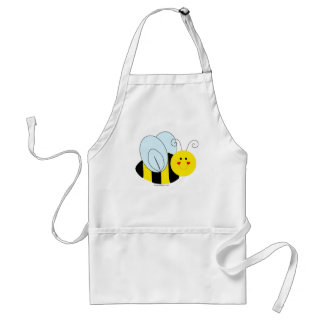 Cute Bee Adult Apron