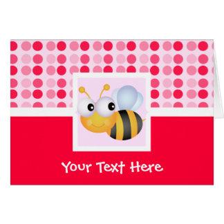 Cute Bee Card