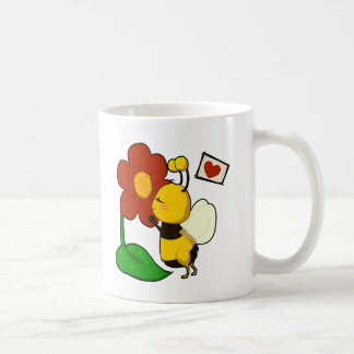 Cute bee coffee mug