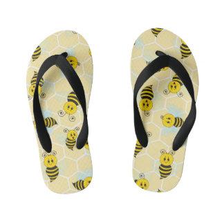 Cute Bee Flip Flops