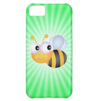 Cute Bee; Green iPhone 5C Case