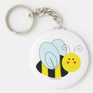 Cute Bee Key Ring