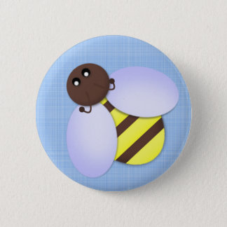 Cute Bee Party Favor Button