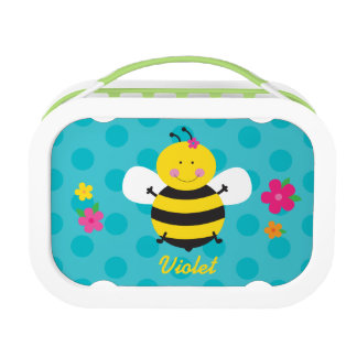 Cute Bee Personalized Lunchbox