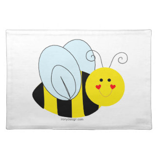 Cute Bee Place Mat