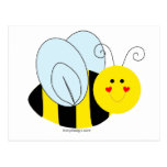 Cute Bee Post Card