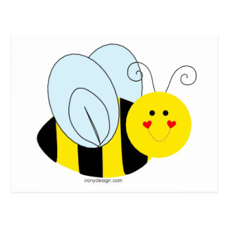 Cute Bee Postcard