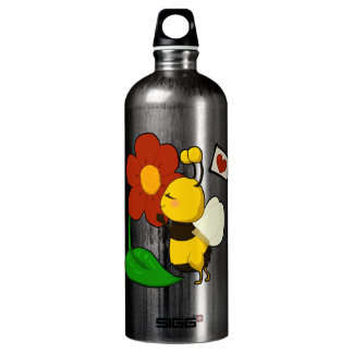 Cute bee SIGG traveler 1.0L water bottle