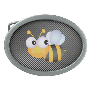 Cute Bee; Sleek Belt Buckle