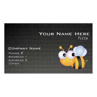 Cute Bee; Sleek Business Card Template