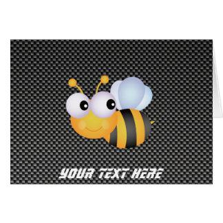 Cute Bee Sleek Greeting Card
