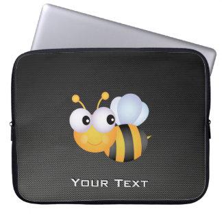 Cute Bee; Sleek Laptop Sleeve