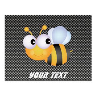 Cute Bee; Sleek Postcard