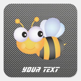 Cute Bee; Sleek Sticker