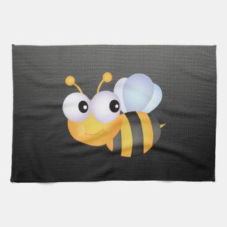 Cute Bee; Sleek Tea Towel