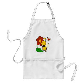 Cute bee standard apron