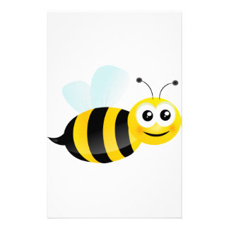 Cute Bee Stationery