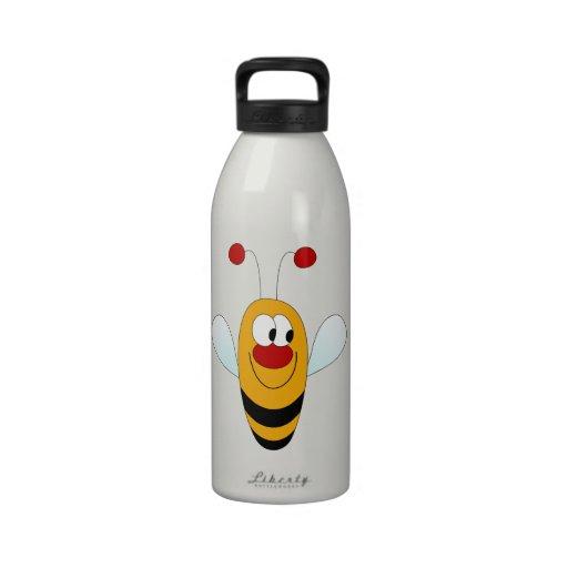 Cute Bee Reusable Water Bottle