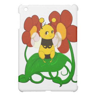 Cute Bee with flowers iPad Mini Case