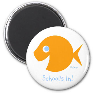Cute Beginning of School Year Gifts From Teacher 6 Cm Round Magnet