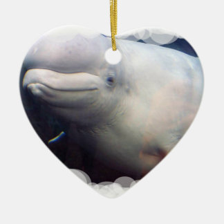 Cute Beluga Whale Ornament