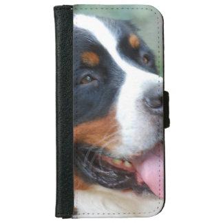 Cute Bernese Mountain Dog iPhone 6 Wallet Case