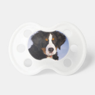 Cute Bernese Mountain Dog Puppy Picture Baby Pacifier