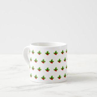 Cute Berries 6 Oz Ceramic Espresso Cup