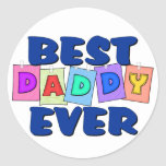 Cute Best Daddy EVER Sticker