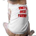 Cute Best Friend of EMT Canine Dog T-shirt