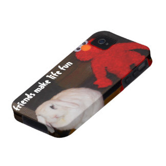 Cute Best Friends Vibe iPhone 4 Cases