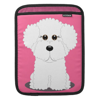 Cute Bichon iPad Sleeve
