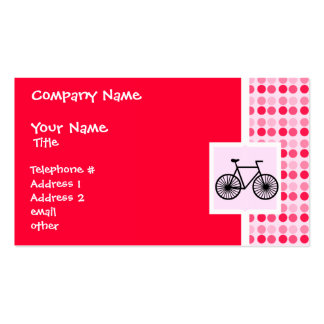 Cute Bicycle Pack Of Standard Business Cards