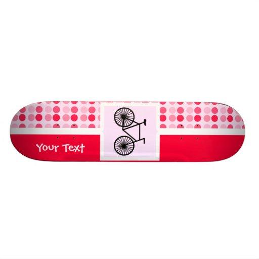 Cute Bicycle Skate Deck