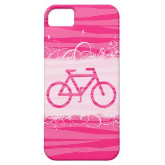 Cute Bicycle Zebra Print iPhone 5 Case