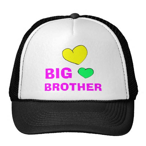 Cute Big Brother Gift Mesh Hat
